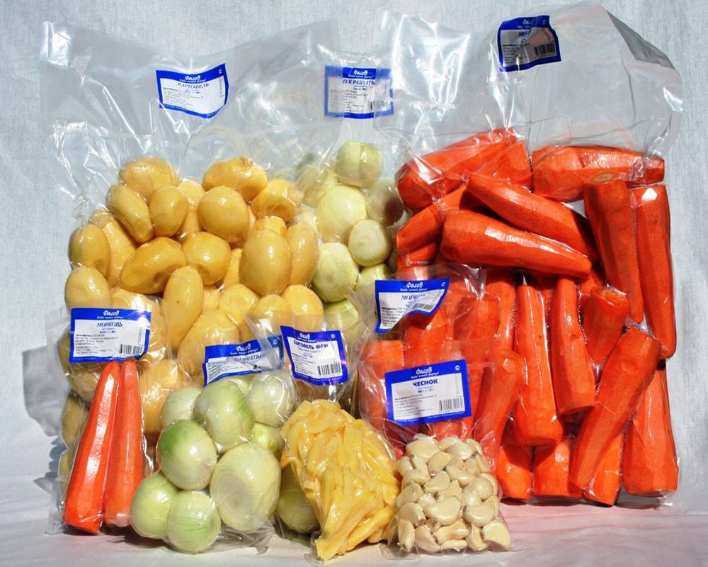Продукты питания в вакуумной упаковке